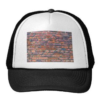 Old Wall Texture Of Bricks Mesh Hat