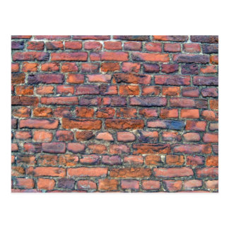 Old Wall Texture Of Bricks Postcard