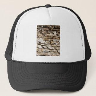 Old wall trucker hat
