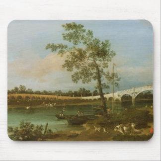Old Walton's Bridge, 1755 (oil on canvas) Mouse Pad