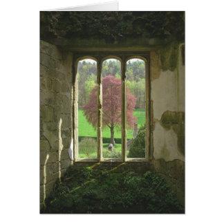 Old Wardour Castle Card
