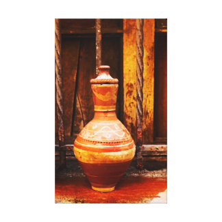 Old water cooler canvas print