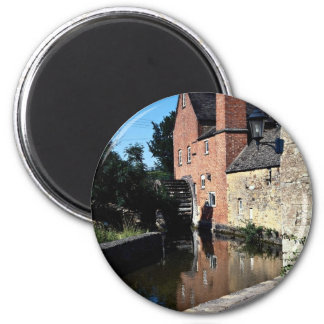 Old water mill, Lower Slaughter, Cotswolds, Englan Fridge Magnet