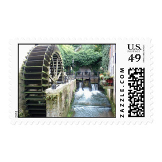 Old Water Mill Stamp