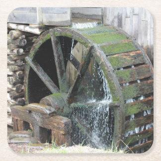 Old Water Wheel Coaster Set