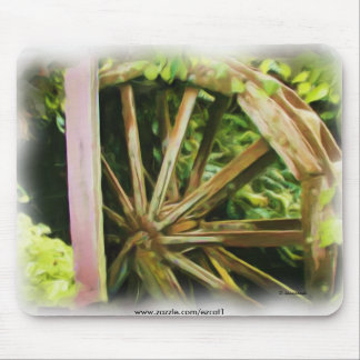 Old Water Wheel Mouse Pad