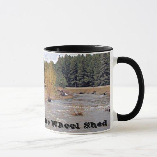 Old Water Wheel Shed Mug