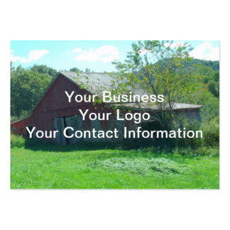 Old Weathered Barn Large Business Card