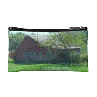 Old Weathered Barn Makeup Bag