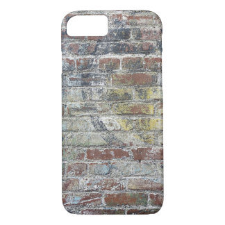Old Weathered Brick Wall Texture iPhone 7 Case