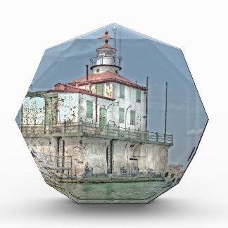 Old Weathered Lake Lighthouse Award
