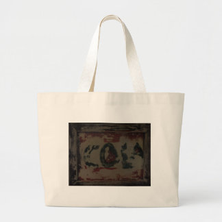 OLD Weathered SIGN Large Tote Bag