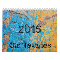 Old weathered surface calendar