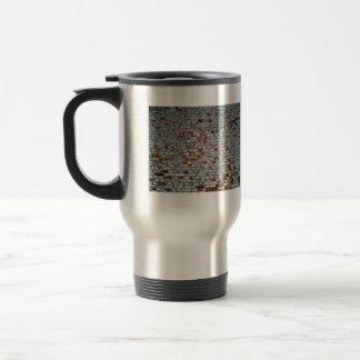 Old Weathered White Paint Wall Coffee Mug