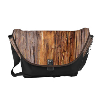Old Weathered Wood Messenger Bags