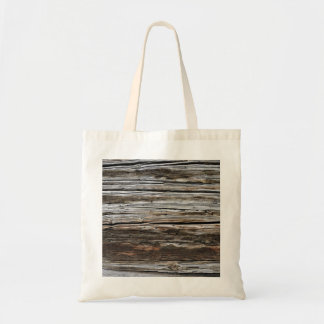 Old Weathered Wood Wall Texture Tote Bag