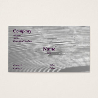 Old Web Business Card