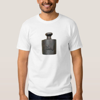 old weight - two kilograms t-shirts