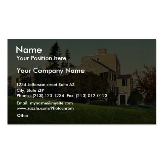 Old Wentworth Mansion, Portsmouth, N.H. rare Photo Double-Sided Standard Business Cards (Pack Of 100)
