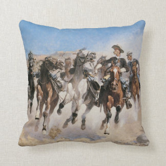 Old West 1890 Cowboy Trooper American MoJo Pillow