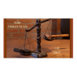 Old West Attorney Business Card (Matching Mug Too)