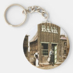 Old West Bank Keychain
