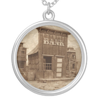 Old West Bank Necklace