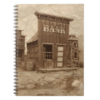 Old West Bank Note Books