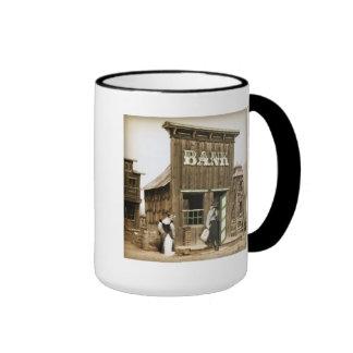 Old West Bank Robbery Ringer Mug