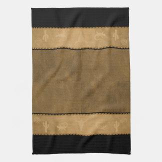 Old West Brand Towel
