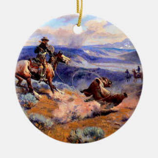 Old West Christmas Tree Ornaments