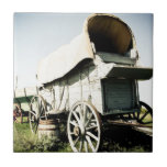 Old West Covered Wagon 01 tile