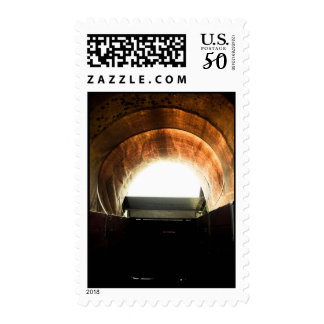Old West Covered Wagon 05 Postage