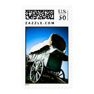 Old West Covered Wagon 06 Postage