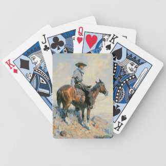 Old West Cowboy Scout Playing Cards