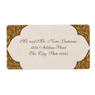 Old West Gala Labels
