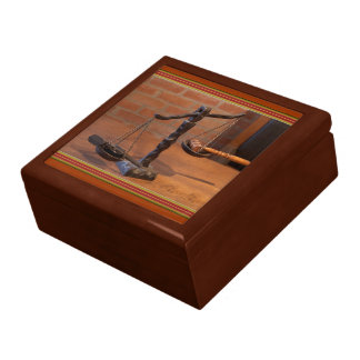 Old West Justice Giftbox Jewelry Box