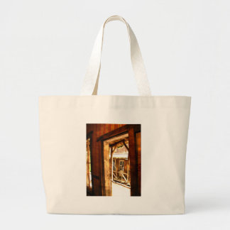 Old West Large Tote Bag