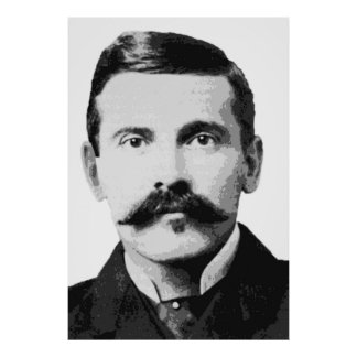 OLD WEST LEGEND DOC HOLLIDAY POSTER