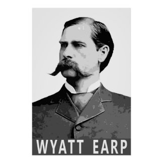 OLD WEST LEGEND WYATT EARP POSTER