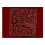 Old West Postcard Blessing