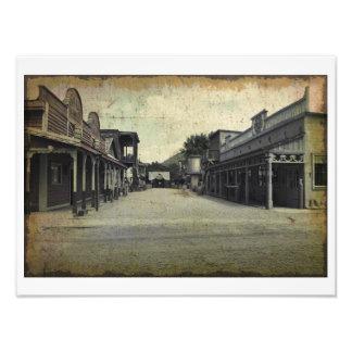 Old West Print Photo Print