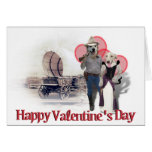 Old West Puppy Love Card
