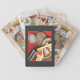 Old West Queen of Hearts Poker Playing Cards