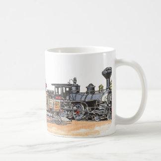 Old West Railroad Depot Classic White Coffee Mug