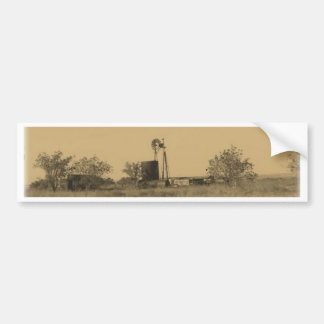 old west rustic homestead bumper stickers