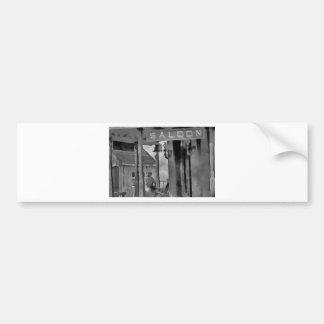 Old West Saloon Bumper Sticker
