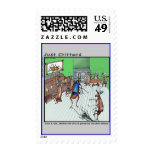 Old West Showdown Postage Stamps