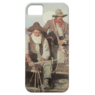 Old West Stagecoach Cowboys iPhone 5 Cover