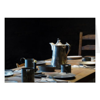 """""""Old West"""" Table Setting Greeting Card"""